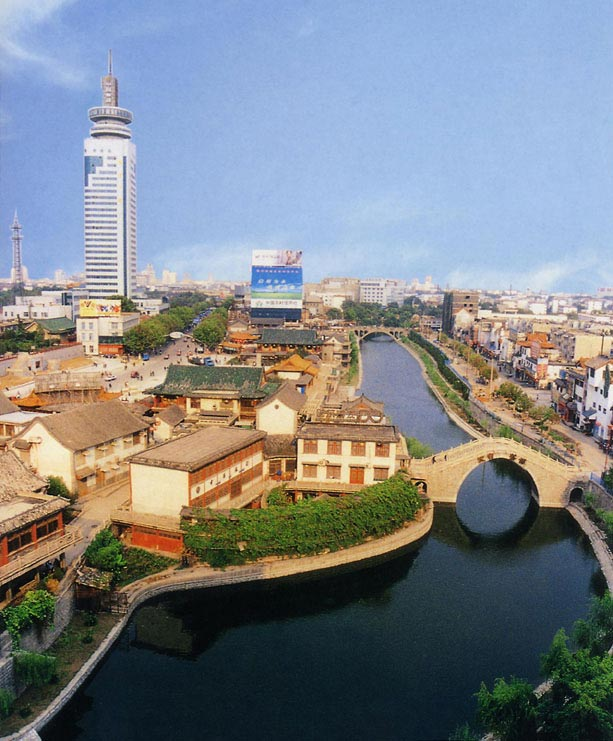 济宁市区古运河