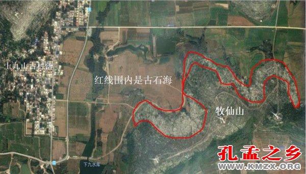 亚博娱乐官方网站_石墙:上九村牧仙山北坡山下四亿年前的古石