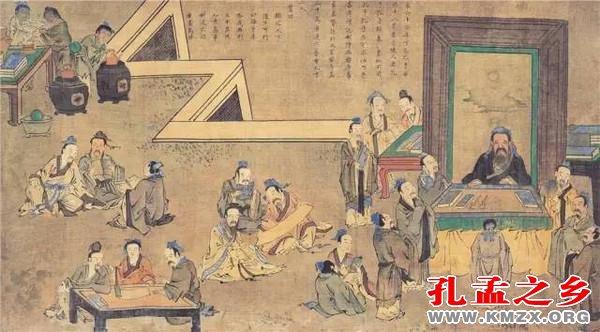 亚虎国际娱乐_36张国画,看懂孔子鲜为人知的一生