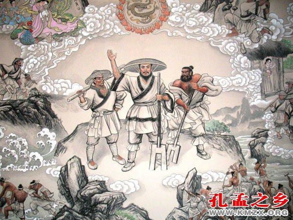 夏氏族起源于山东考