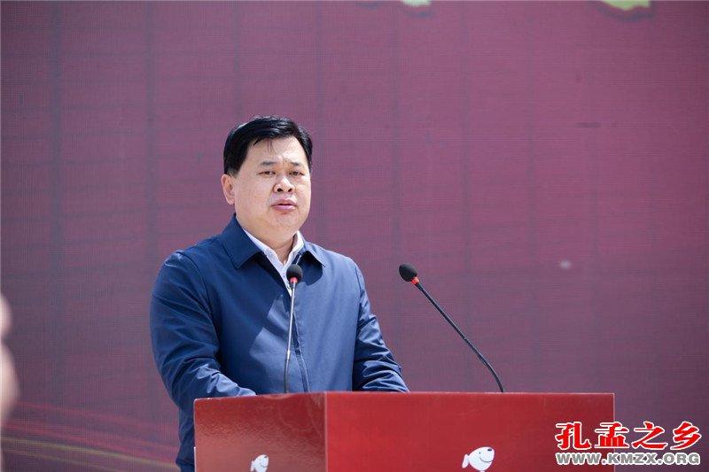 济宁市委常委、邹城市委书记 张百顺