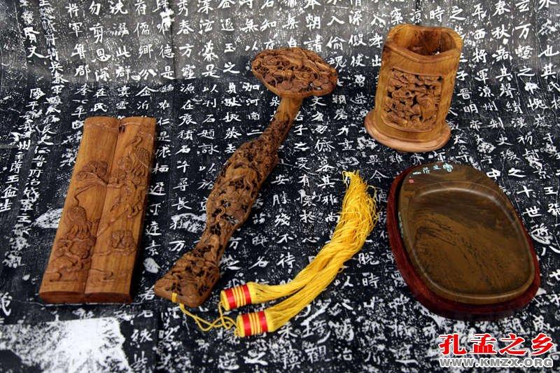 曲阜三宝(楷木雕、尼山砚、碑帖)