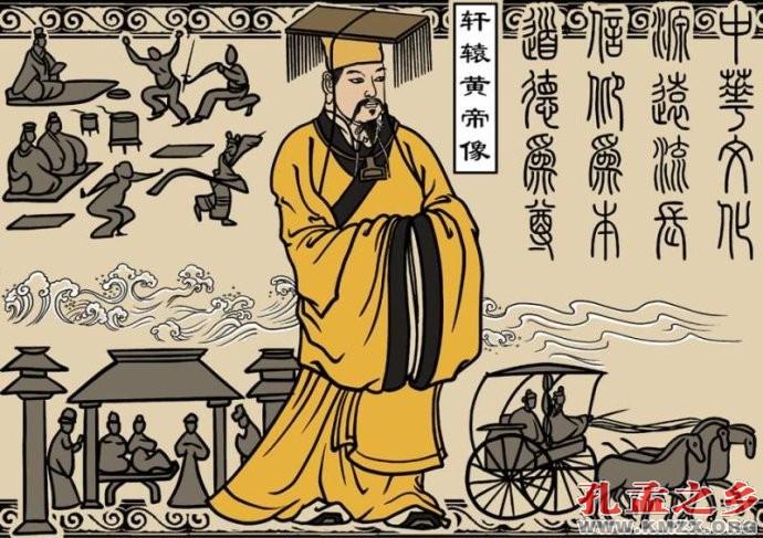 炎帝与黄帝的传�_黄帝和炎帝时期逐渐形成华夏族,因而他们都视为华夏民族共同的祖先,故